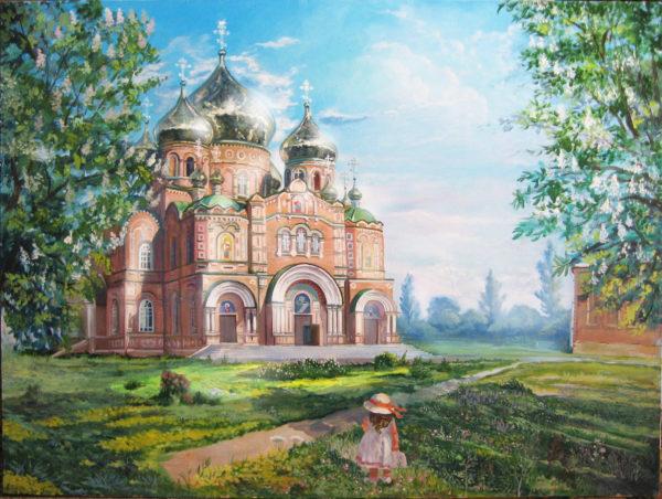 Свято-Владимирский кафедральный собор в Луганске