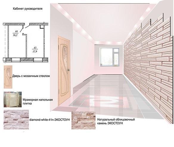 Дизайн -проект интерьерапомещения